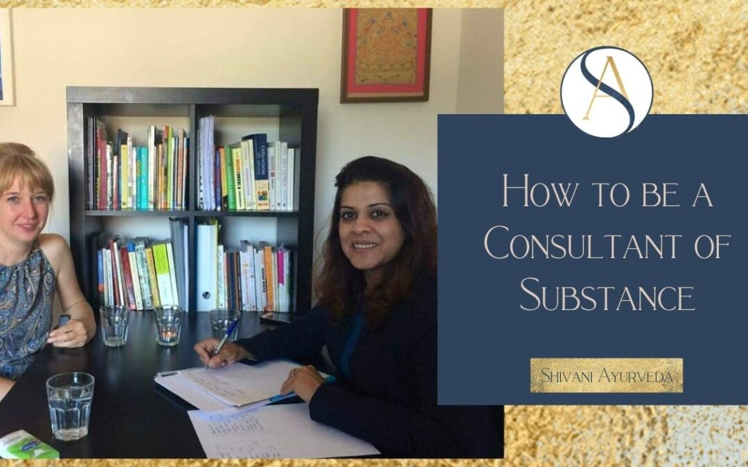 How to be a Consultant of Substance